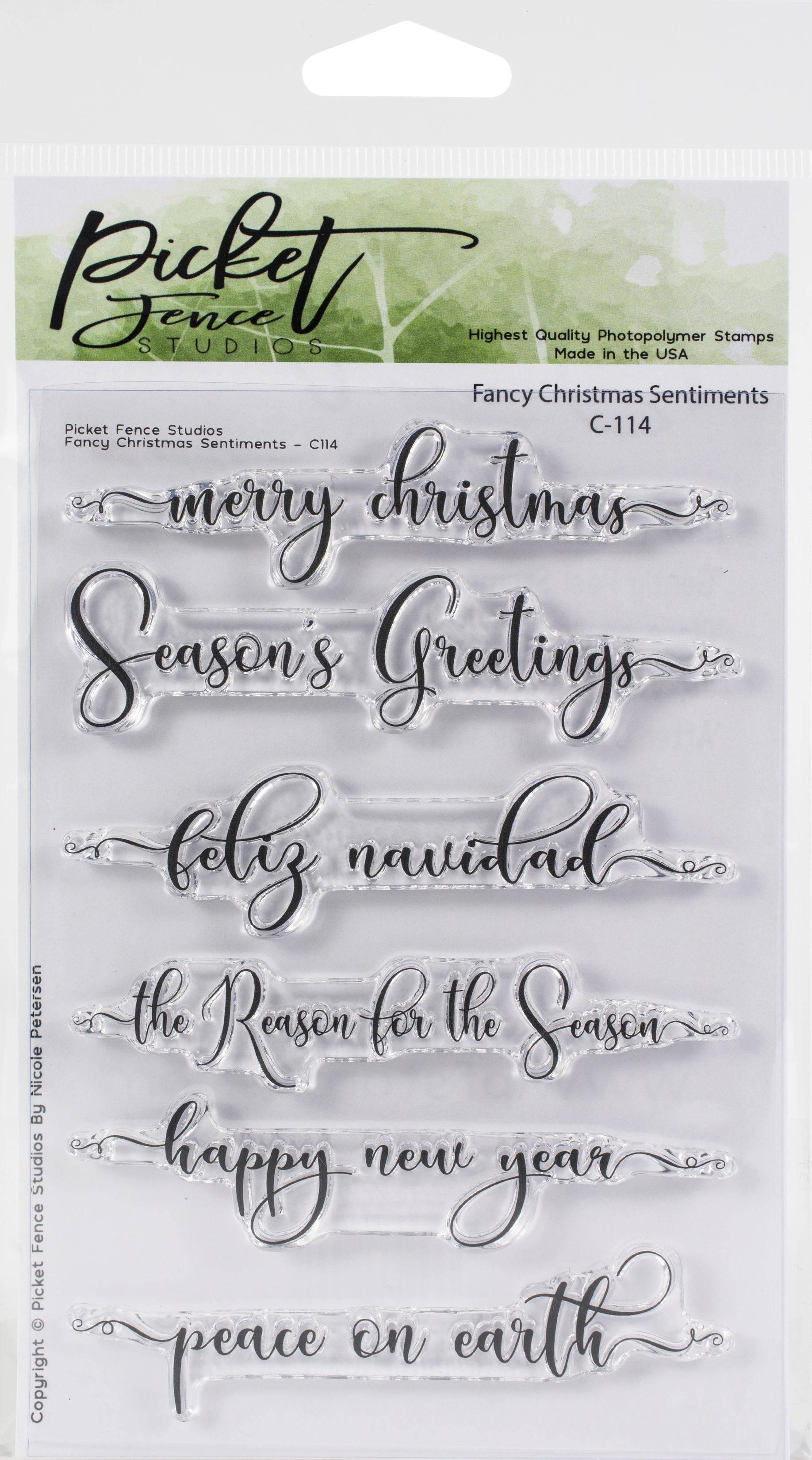 Picket Fence - Fancy Sentiments S-169