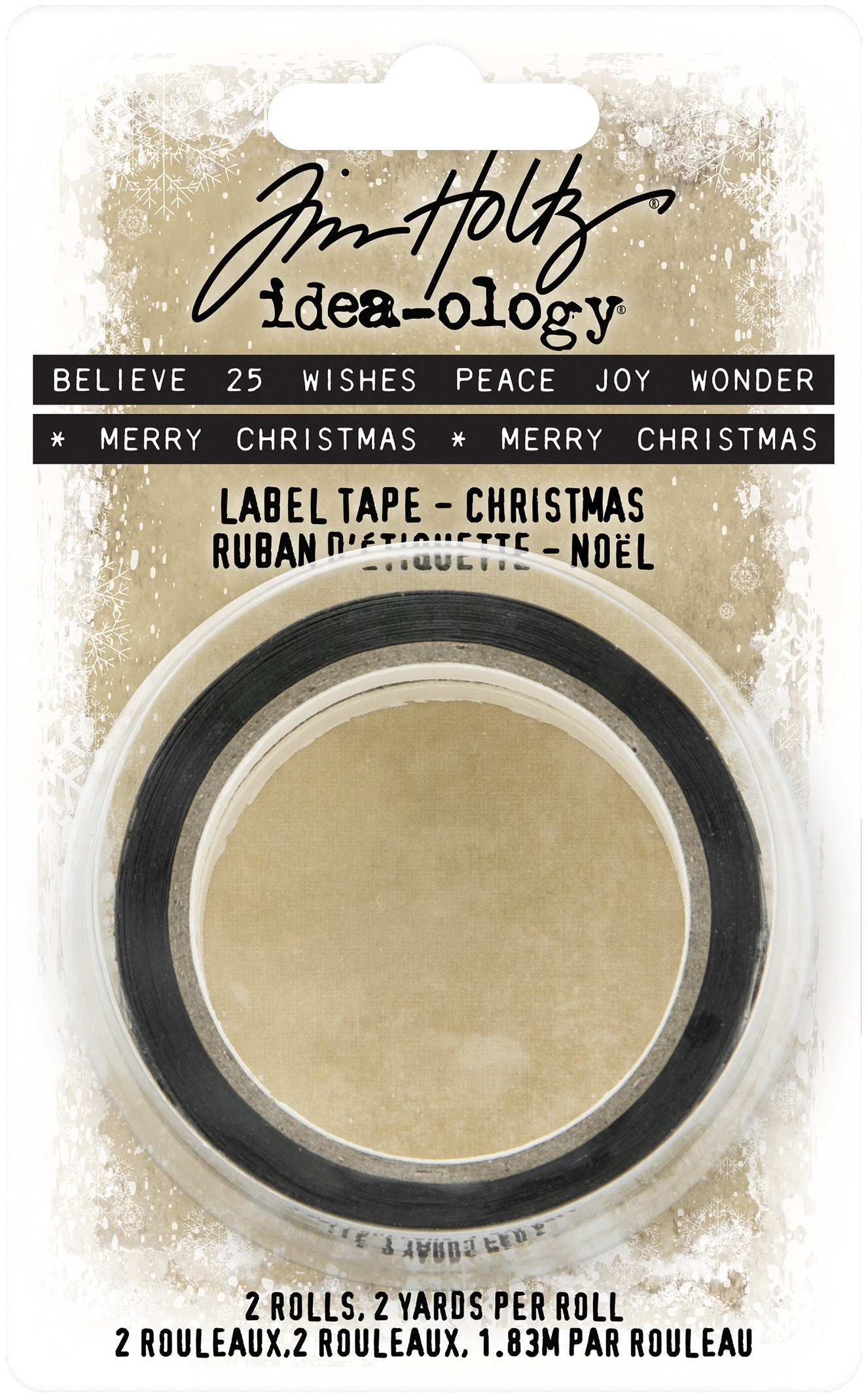 Idea-Ology Label Tape 2/Pkg-Christmas