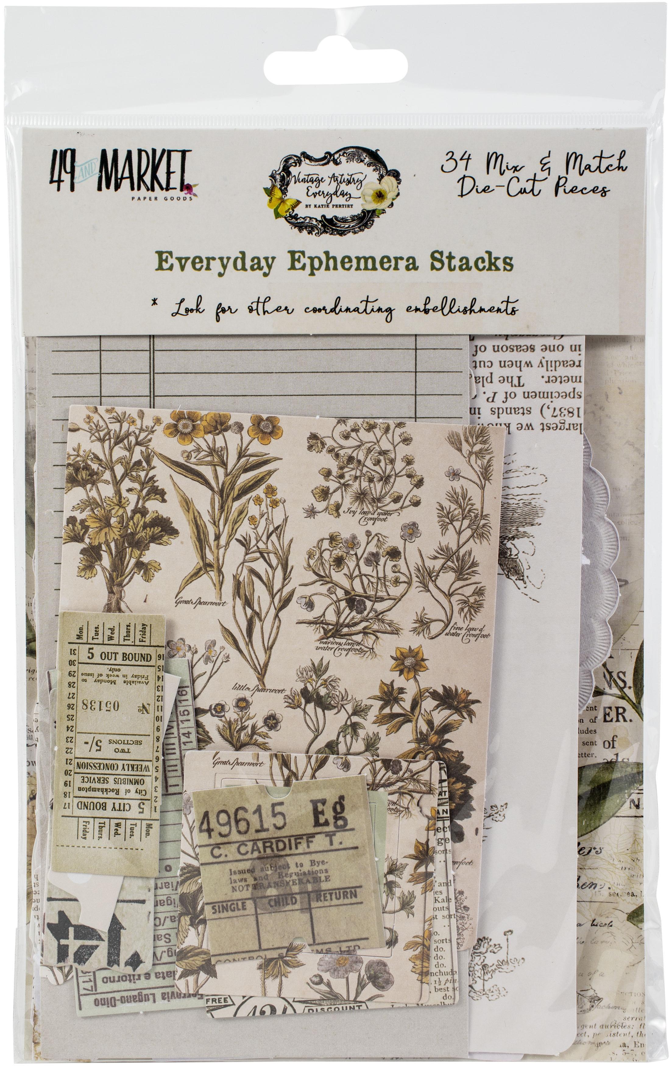 49 And Market - Everyday Ephemera Stacks