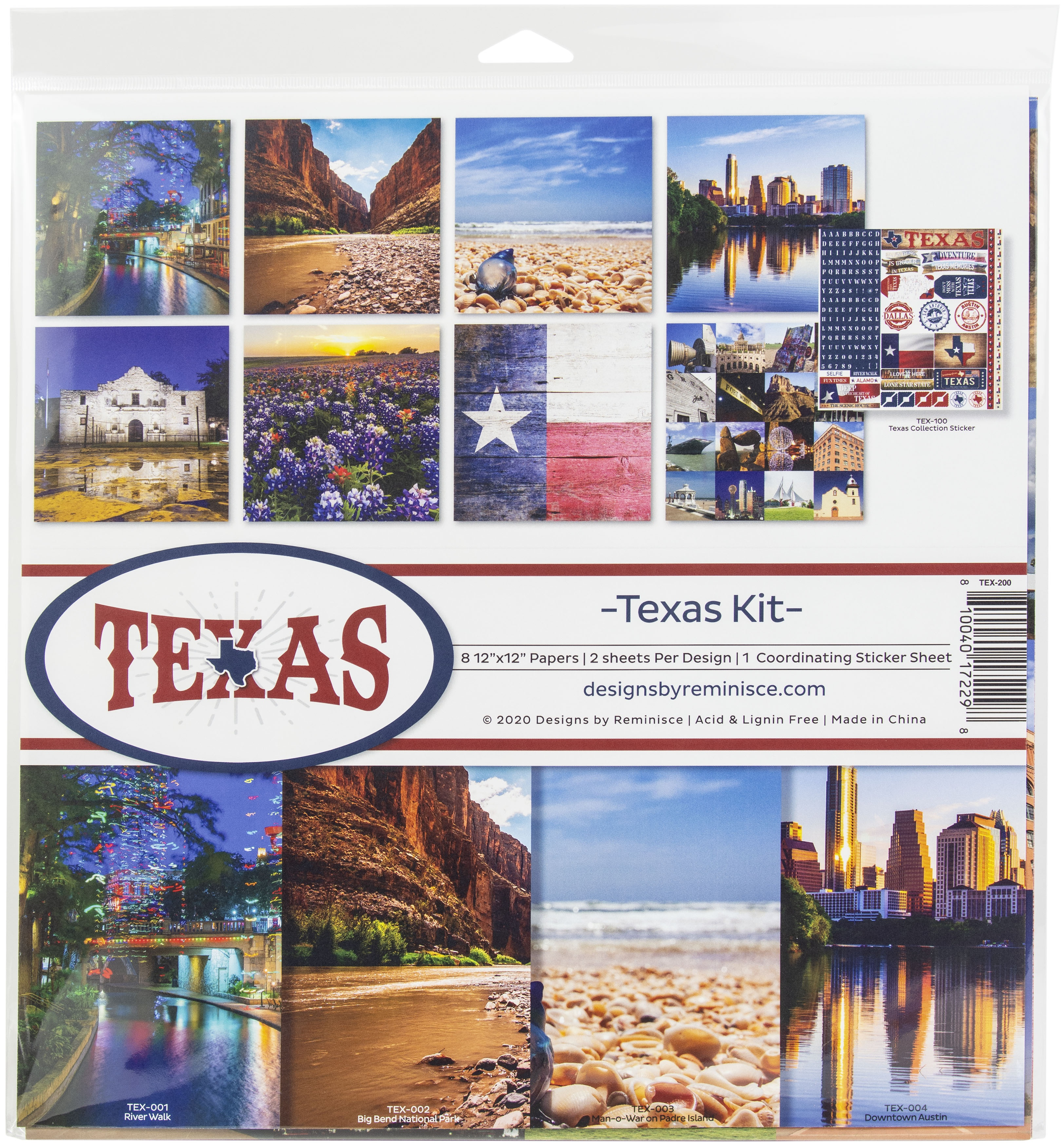 Reminisce Collection Kit 12X12-Texas