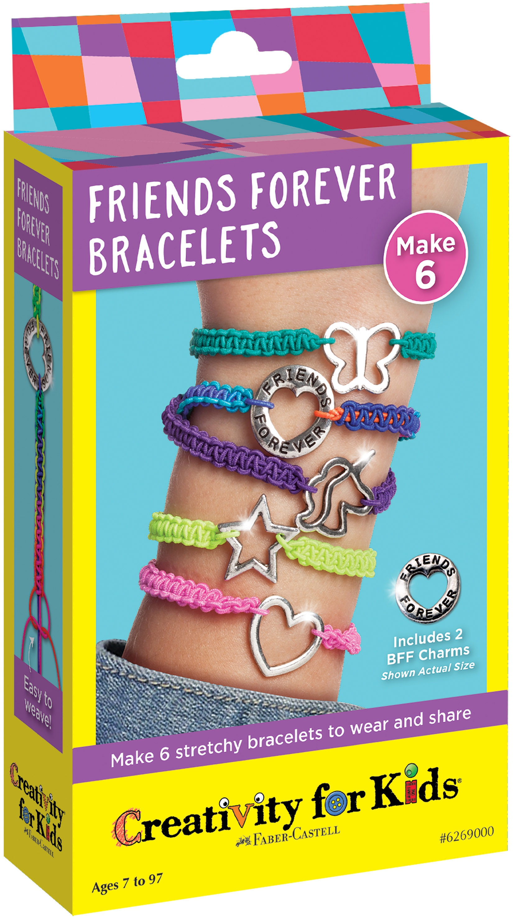 Creativity For Kids Friends Forever Bracelets-