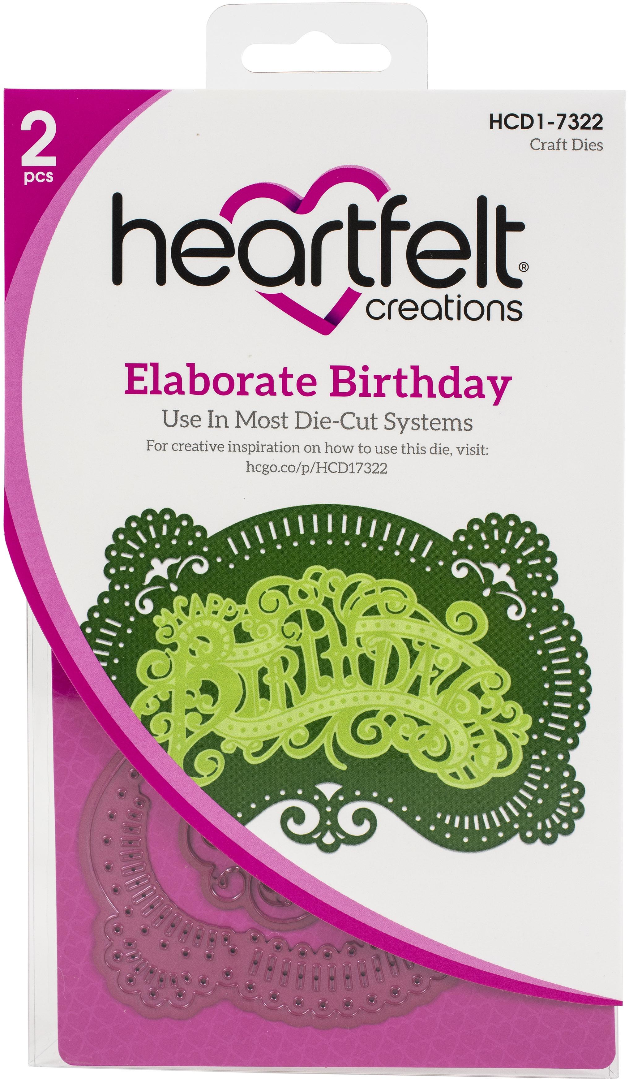 Elaborate Birthday Dies