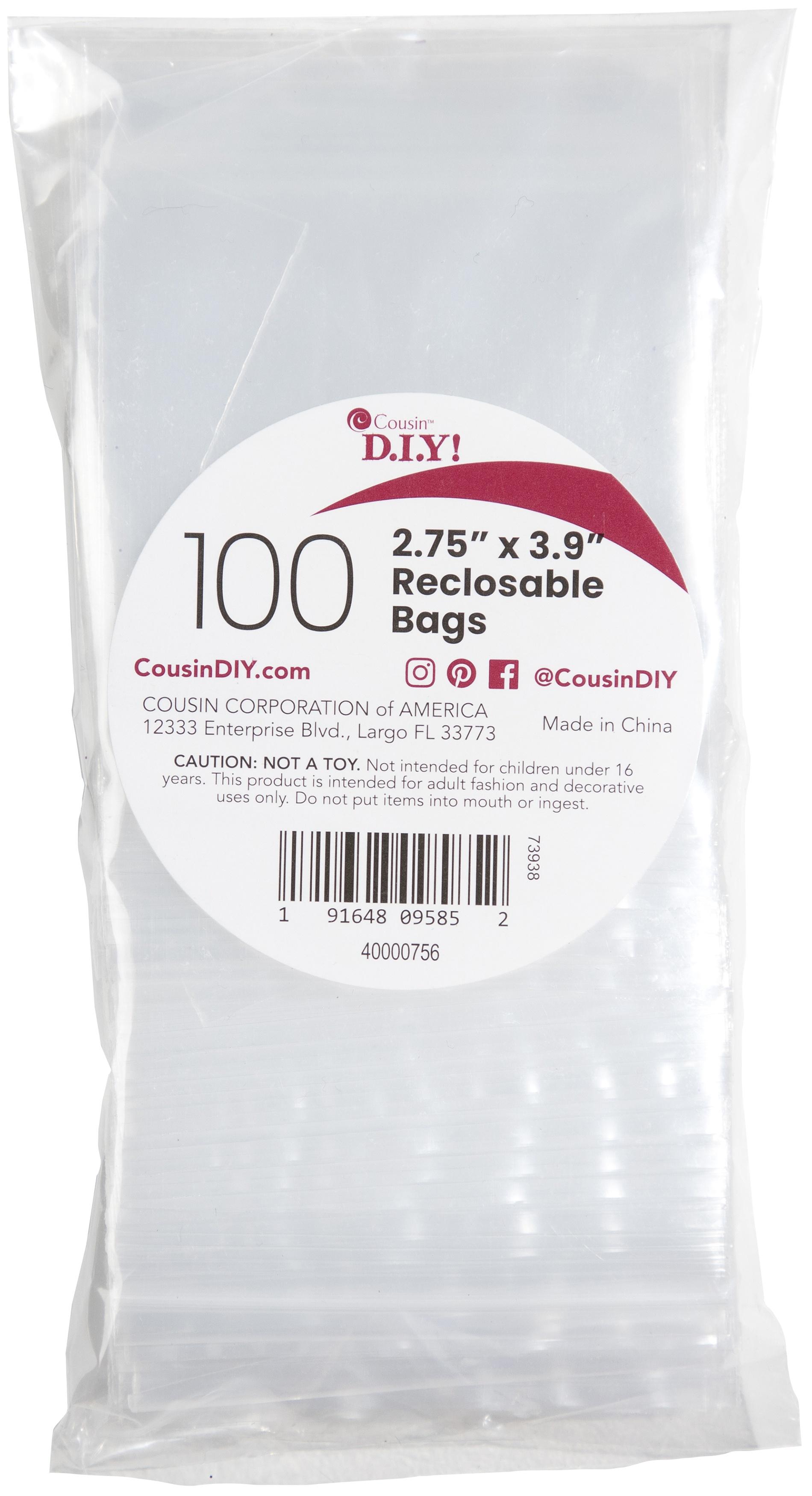 Reclosable Treat Bags 100/Pkg-3x4