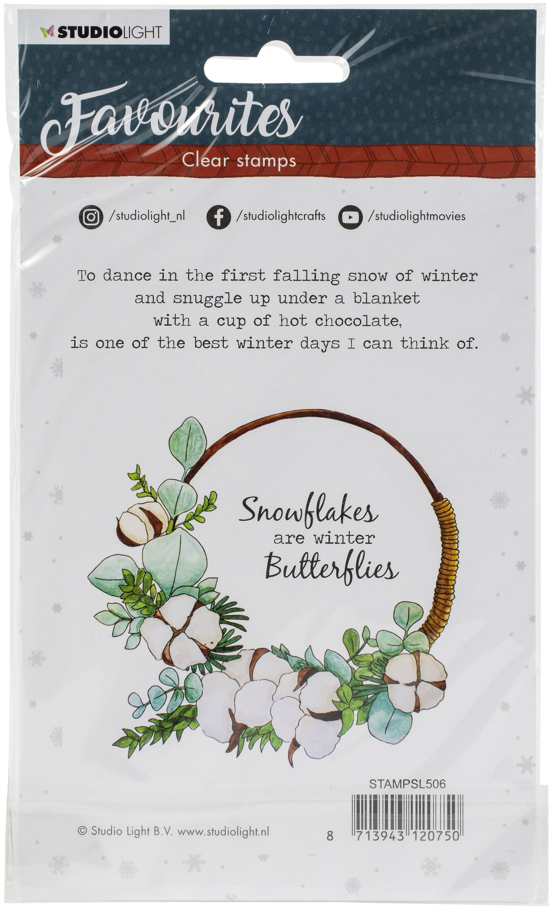 Studio Light Winter's Favourites Clear Stamps-NR506
