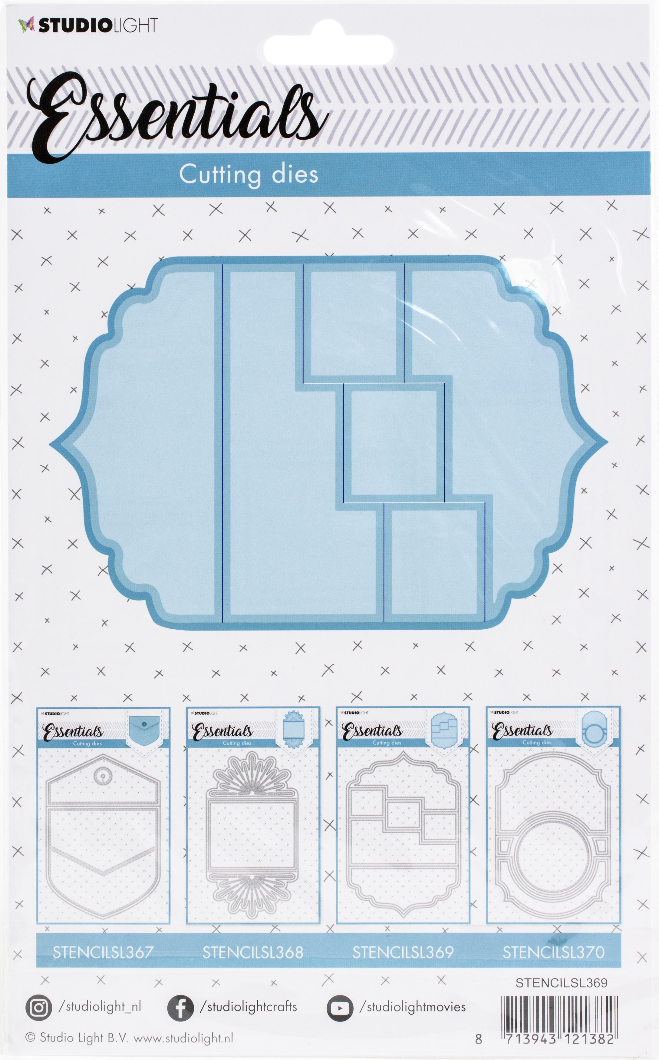 Studio Light Essentials Die-Card Shape