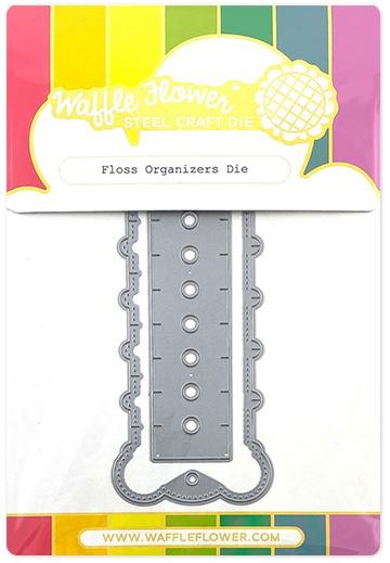 Waffle Flower Die-Floss Organizers