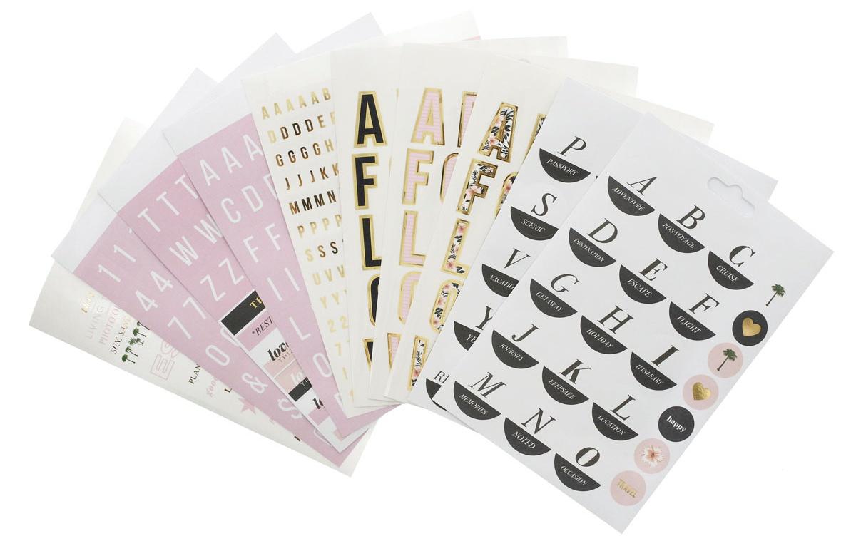 Teresa Collins Designer Stickers 10/Pkg-Tropical Bliss