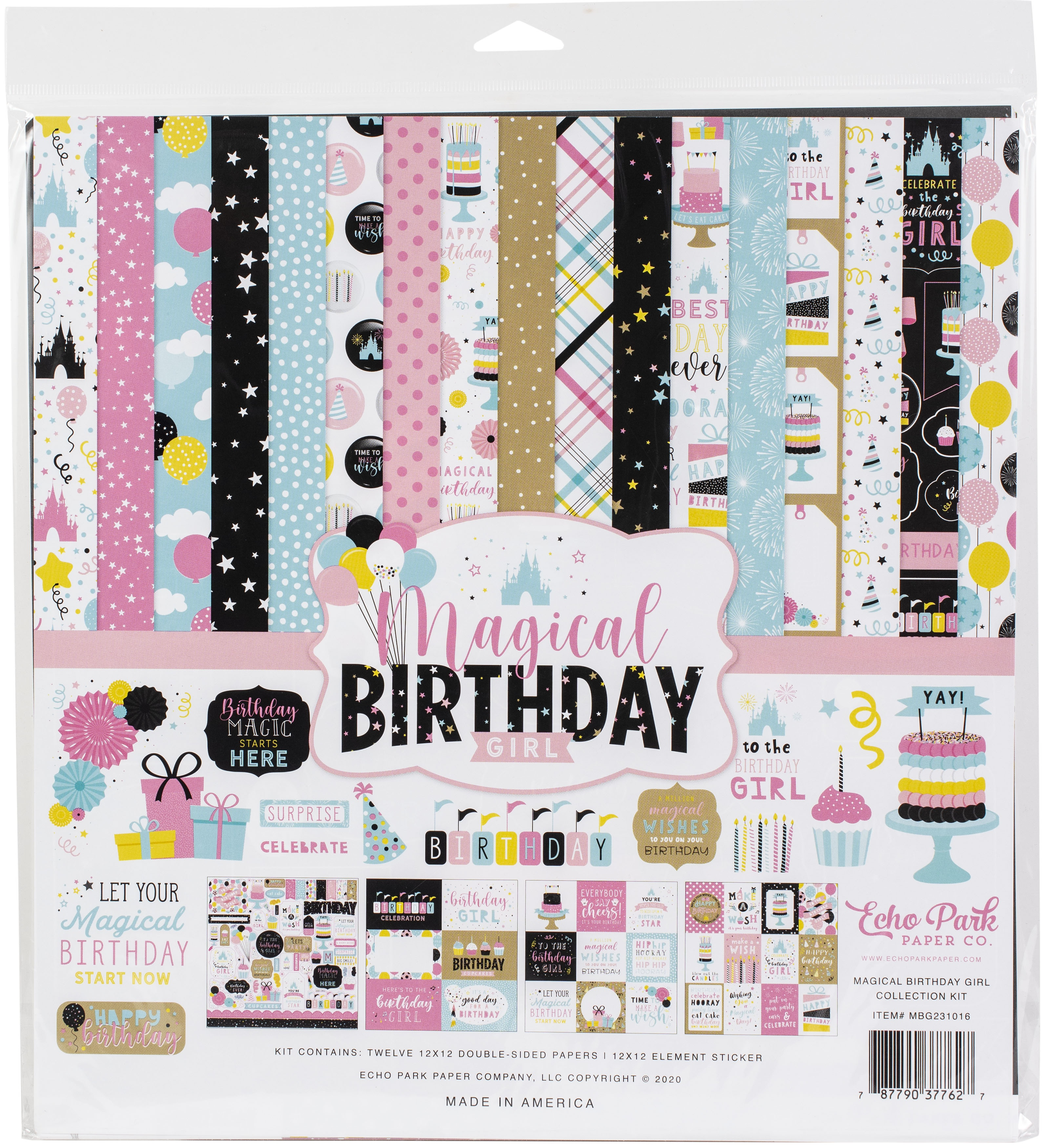 Echo Park - Magical Birthday Girl - 12x12 Collection Kit