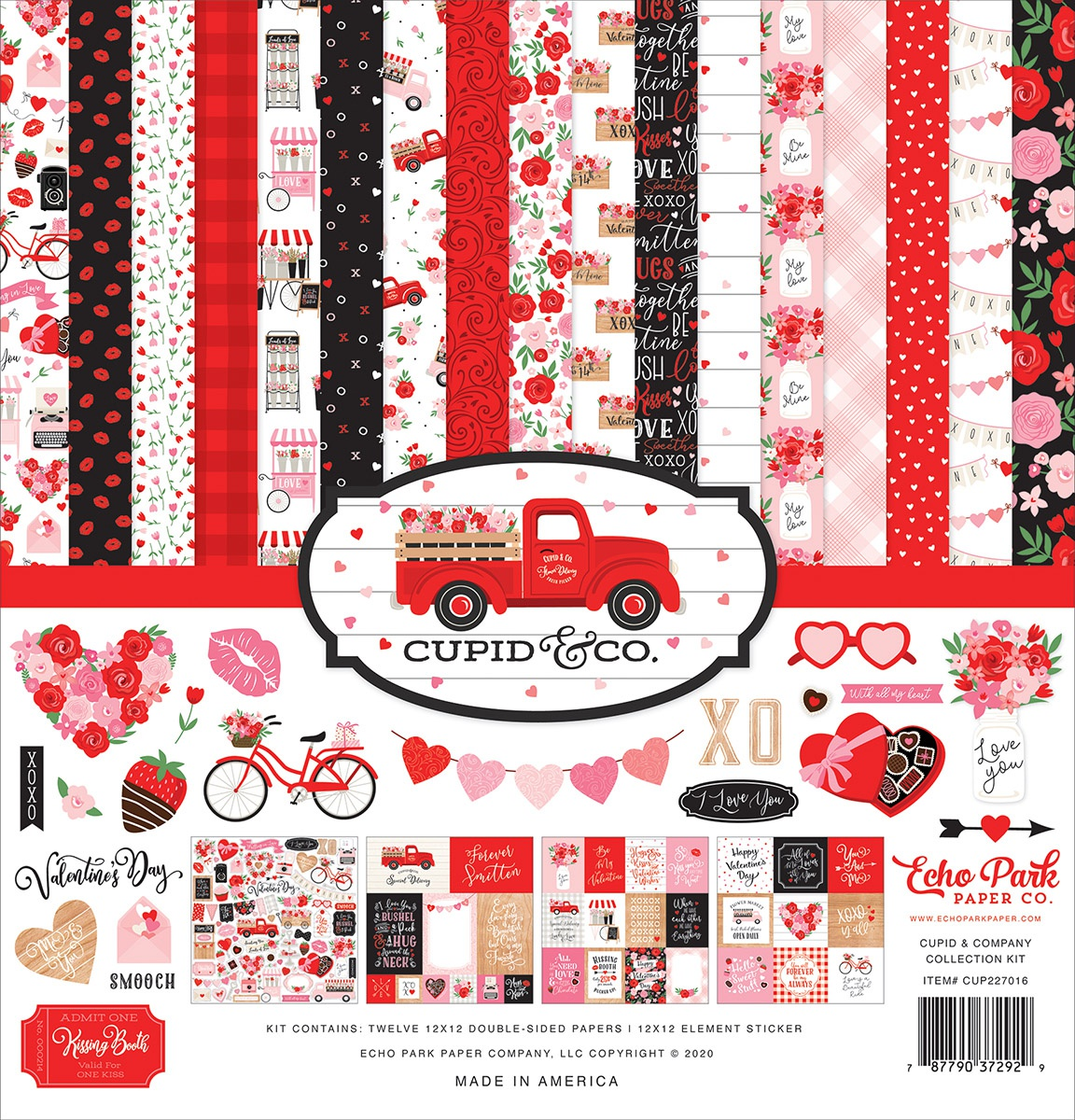 Echo Park Collection Kit 12X12-Cupid & Co.