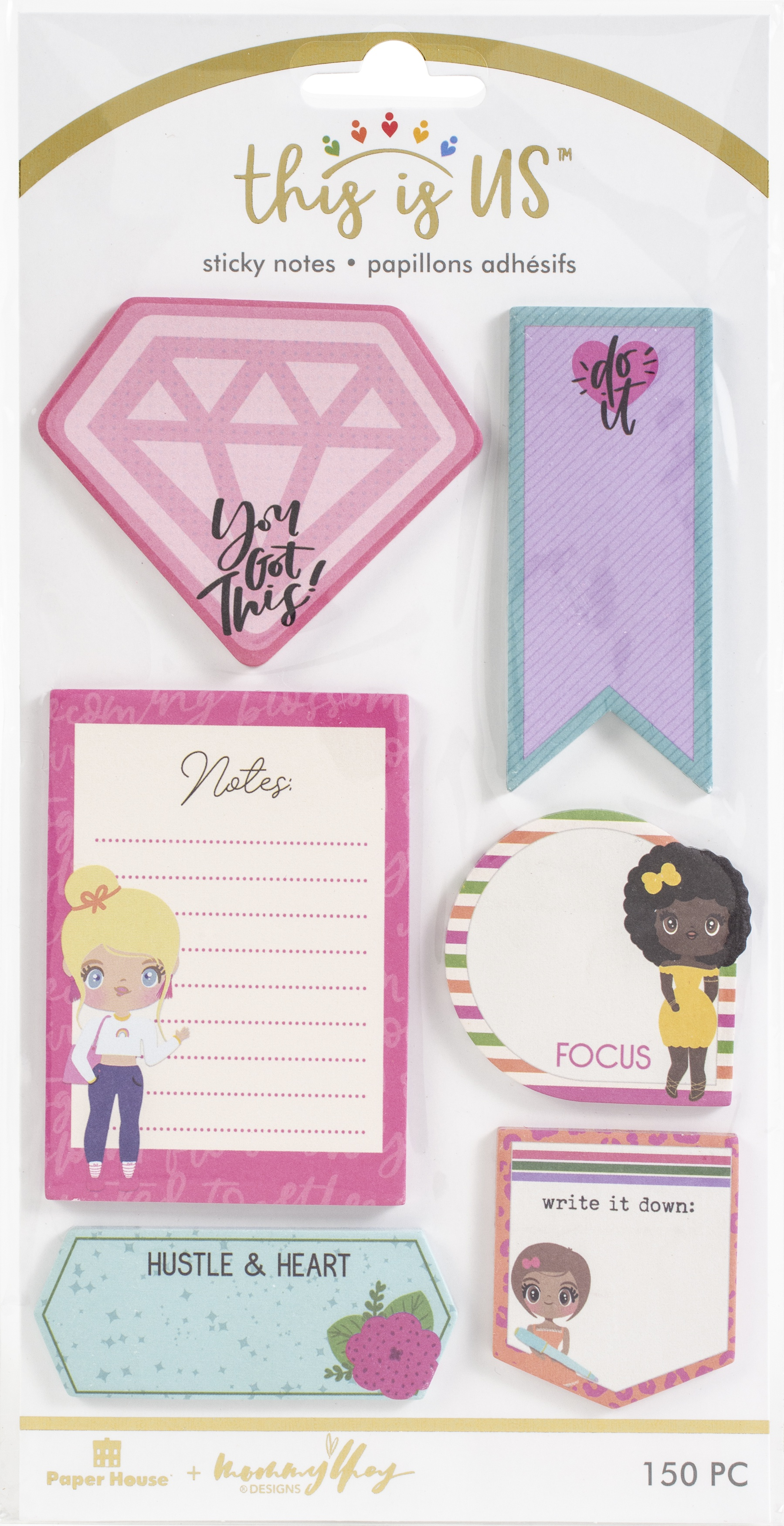 This Is Us Sticky Note Set 125/Pkg-Just Be You