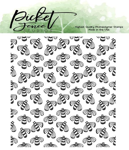 Picket Fence Studios 4X4 Stamp Set-Buzz