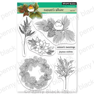 Penny Black Clear Stamps-Nature's Allure