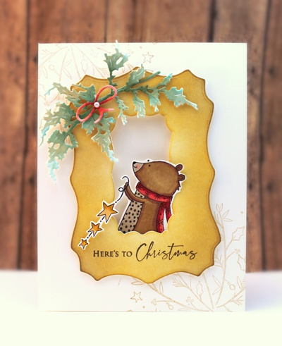 Penny Black Clear Stamps-Here's To Xmas