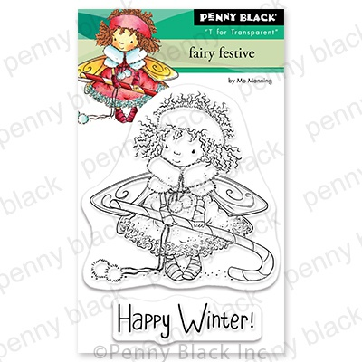 Penny Black Clear Stamps-Fairy Festive