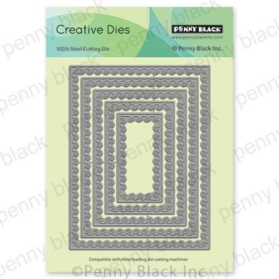Penny Black Creative Dies-Looped Stackers