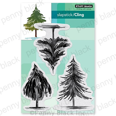 Penny Black Cling Stamps-Tannenbaum