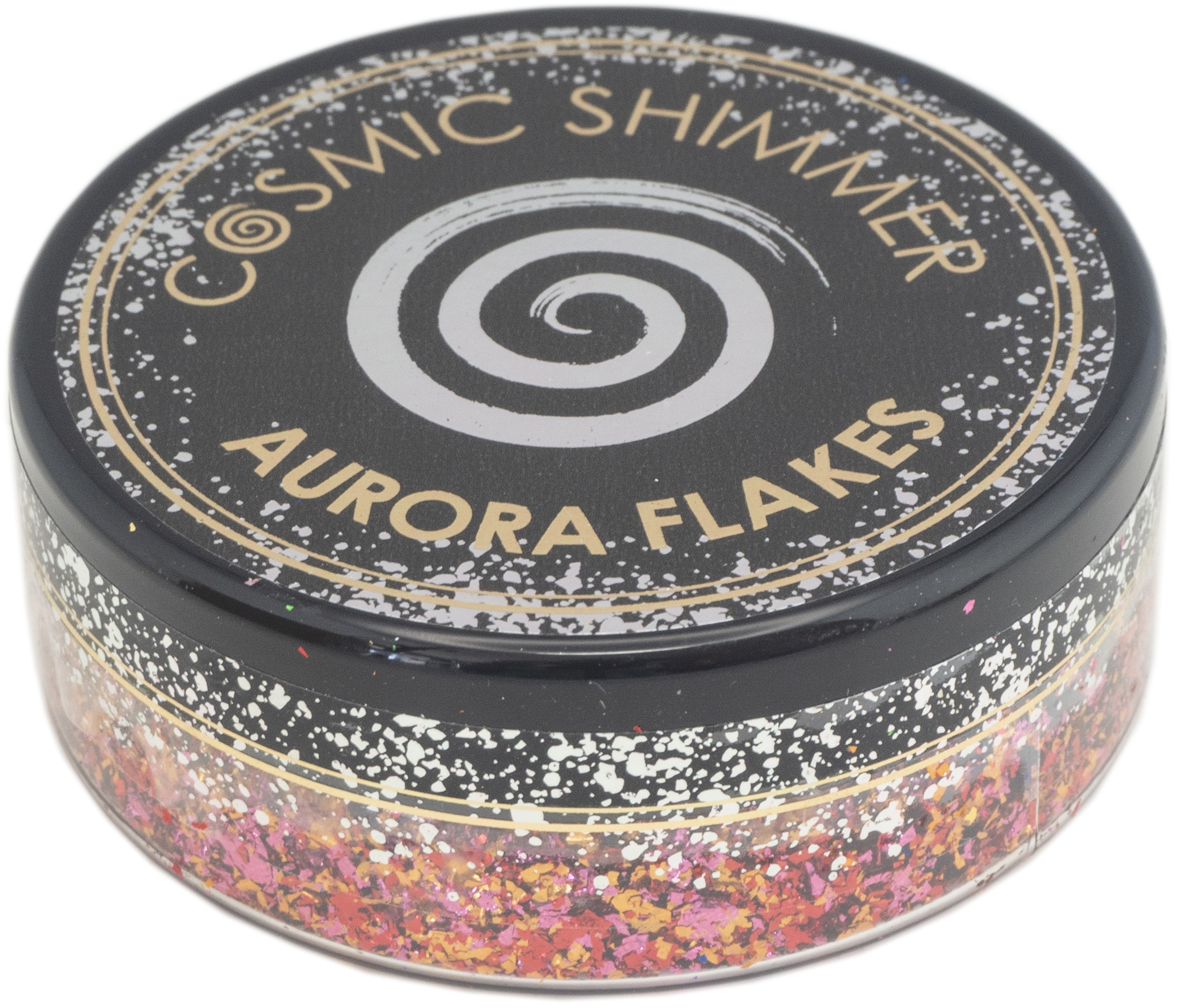 Creative Expressions Cosmic Shimmer Aurora Flakes 50ml-Amber Glow