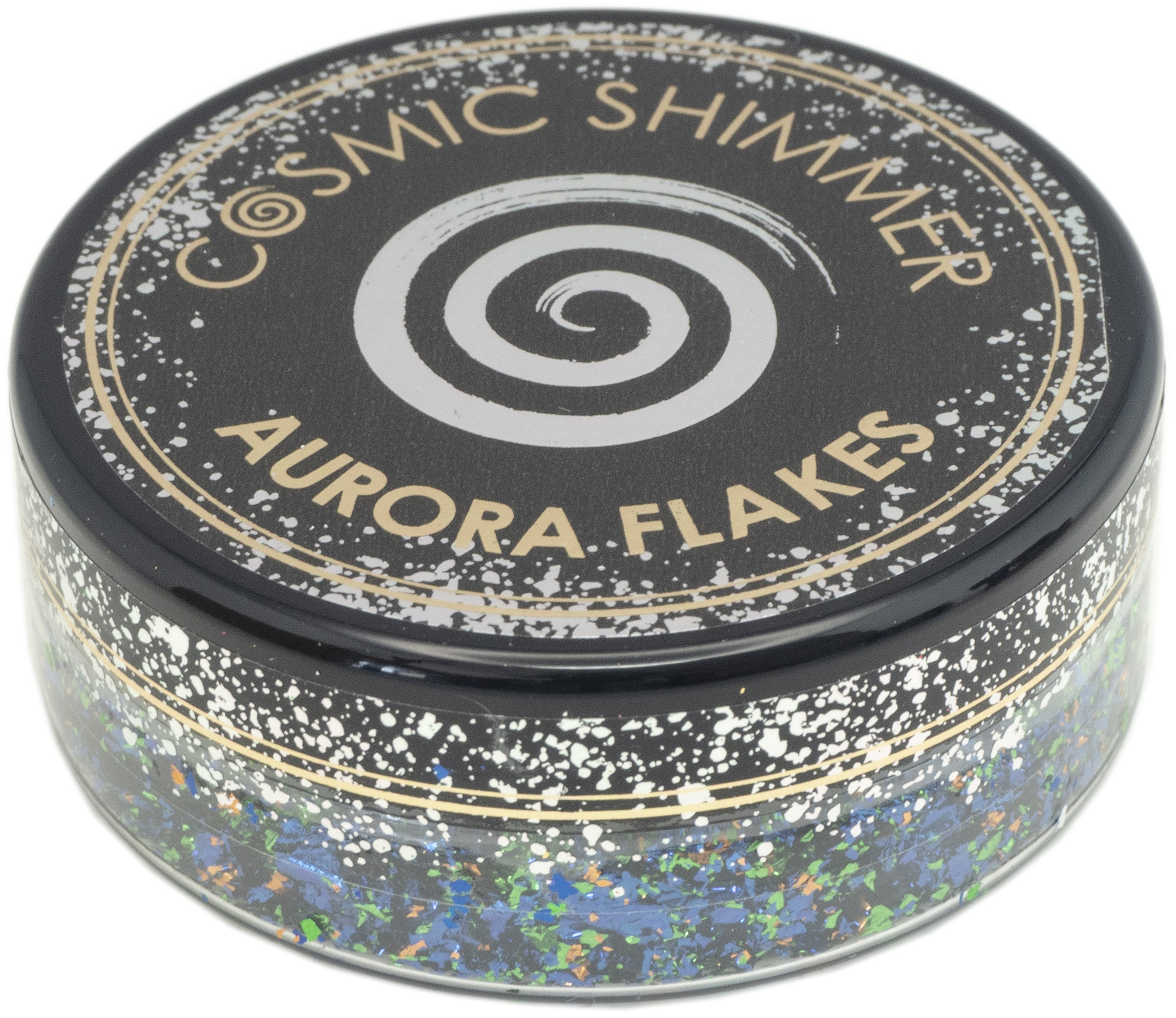 Creative Expressions Cosmic Shimmer Aurora Flakes 50ml-Enchanted Forest