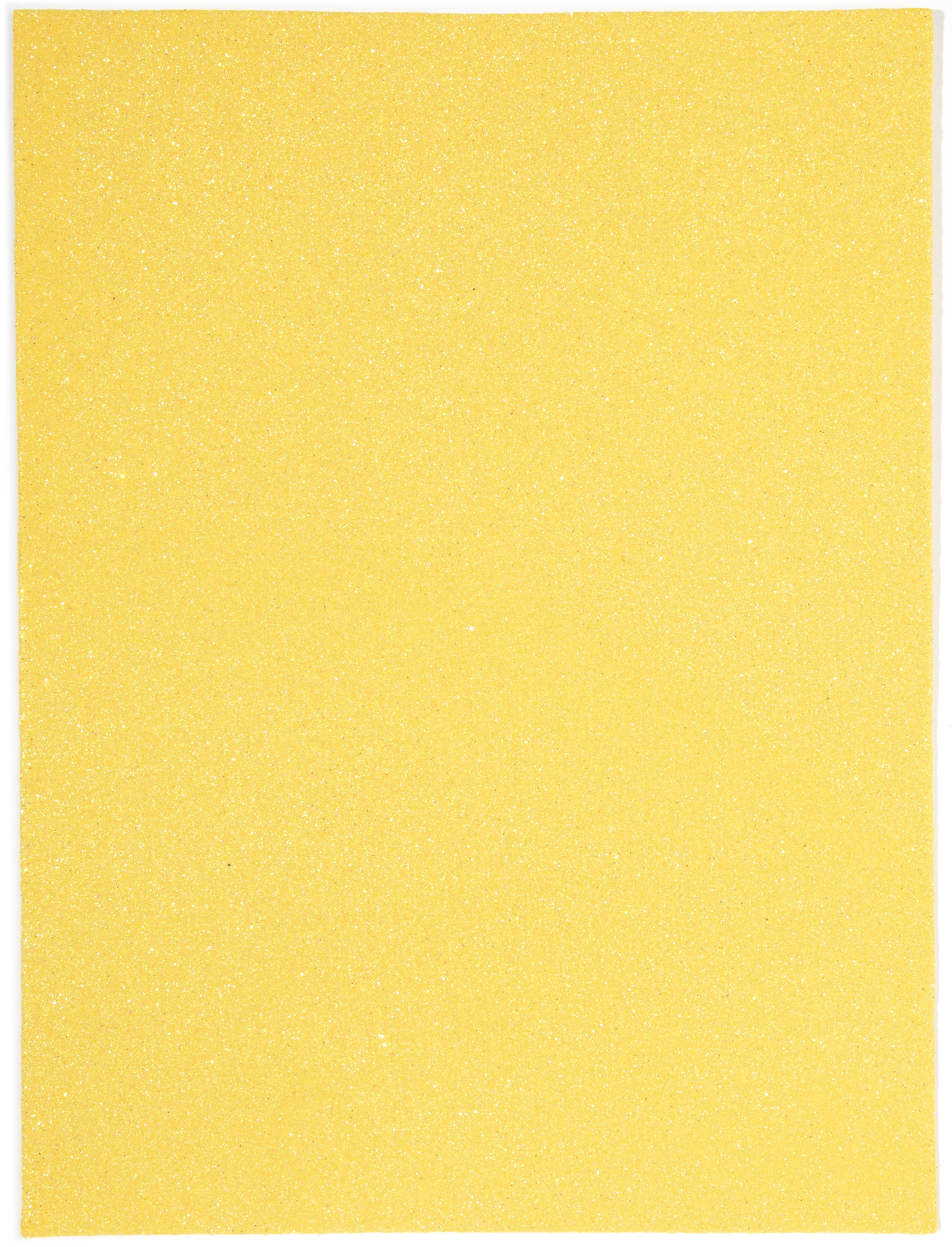 Glitter Foam Sheet 9X12 2mm-Gold