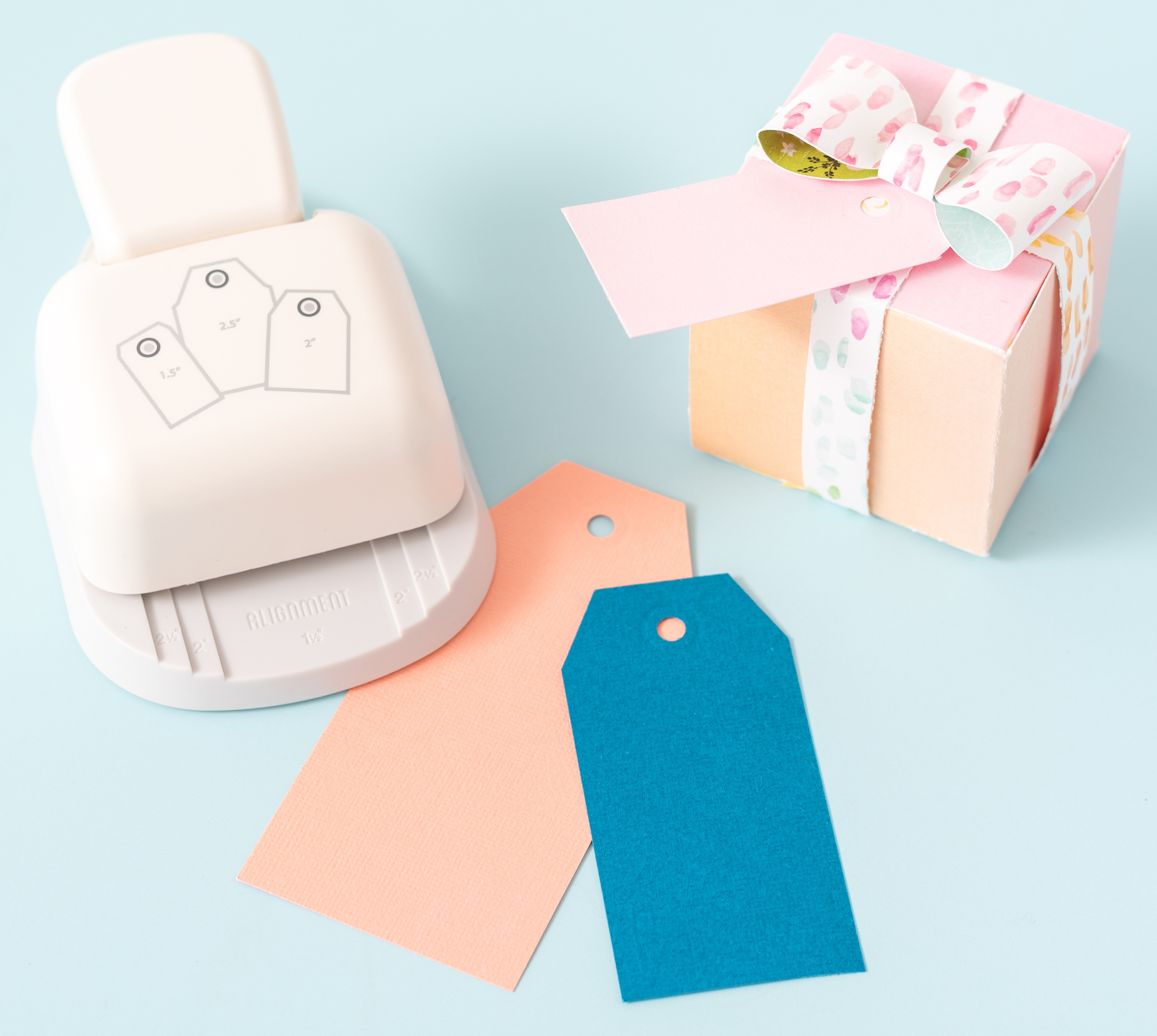 We R Memory Keepers 3-In-1 Punch-Angled Tag