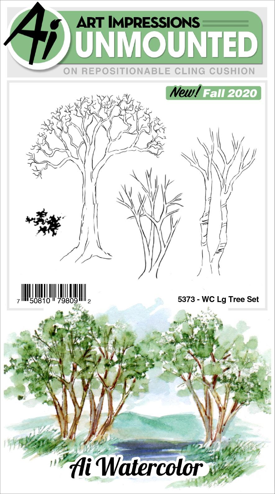 AI - WC - Large Tree Stamp