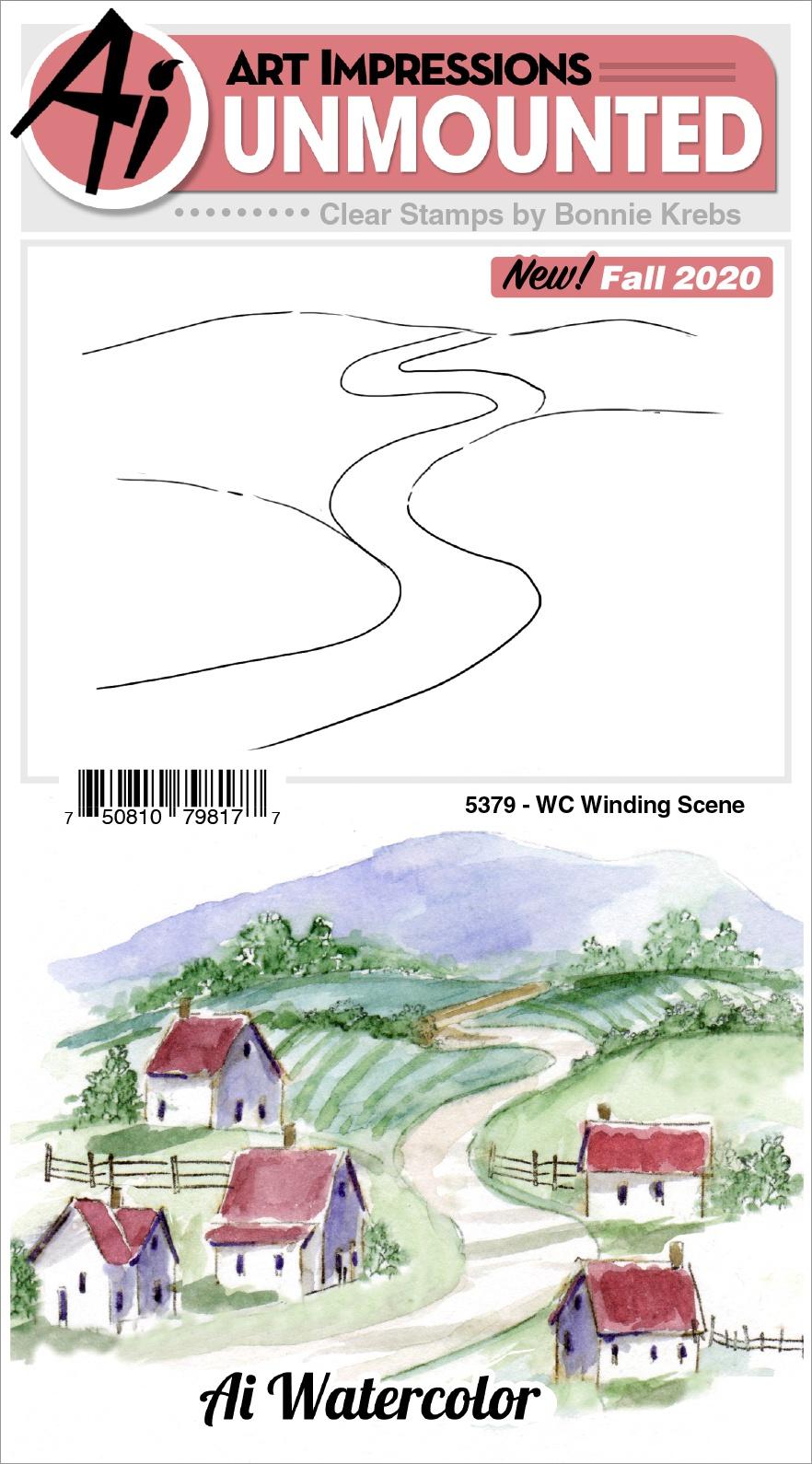 AI - WC - Winding Scene Stamp
