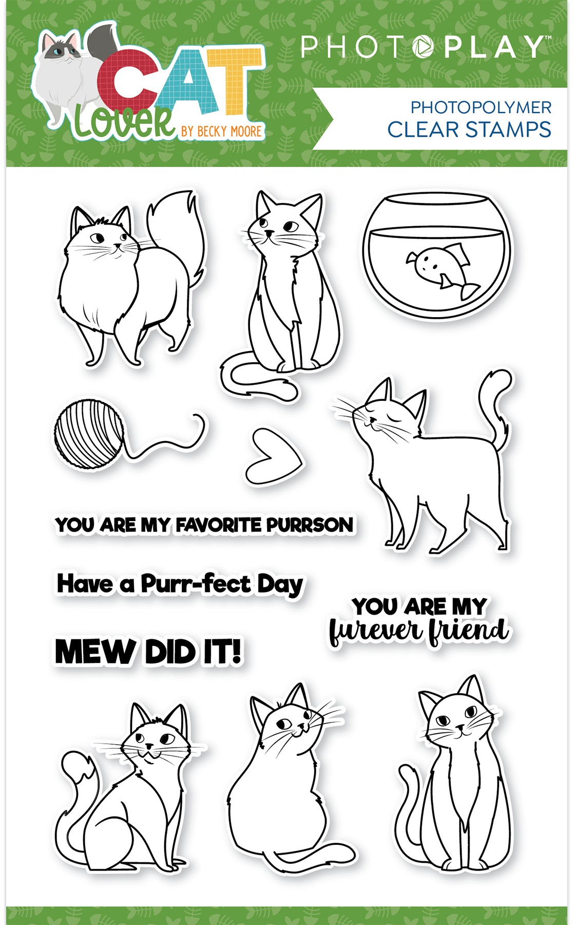 PhotoPlay - Cat Lover - Stamp Set