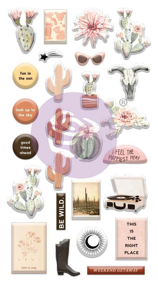 ^Prima - Golden Desert - Puffy Stickers