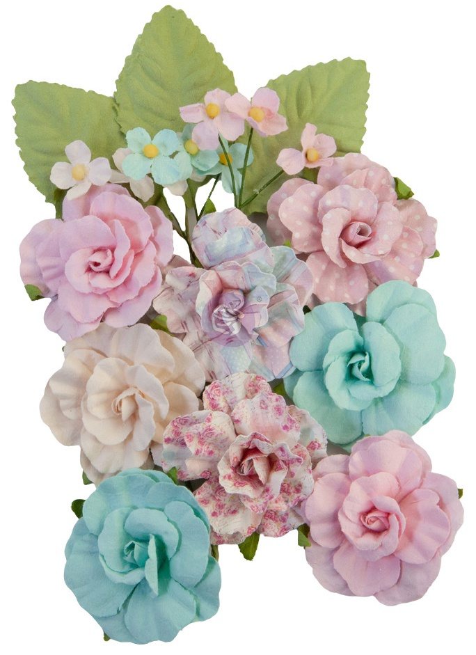 Mulberry Paper Flowers All Heart/With Love