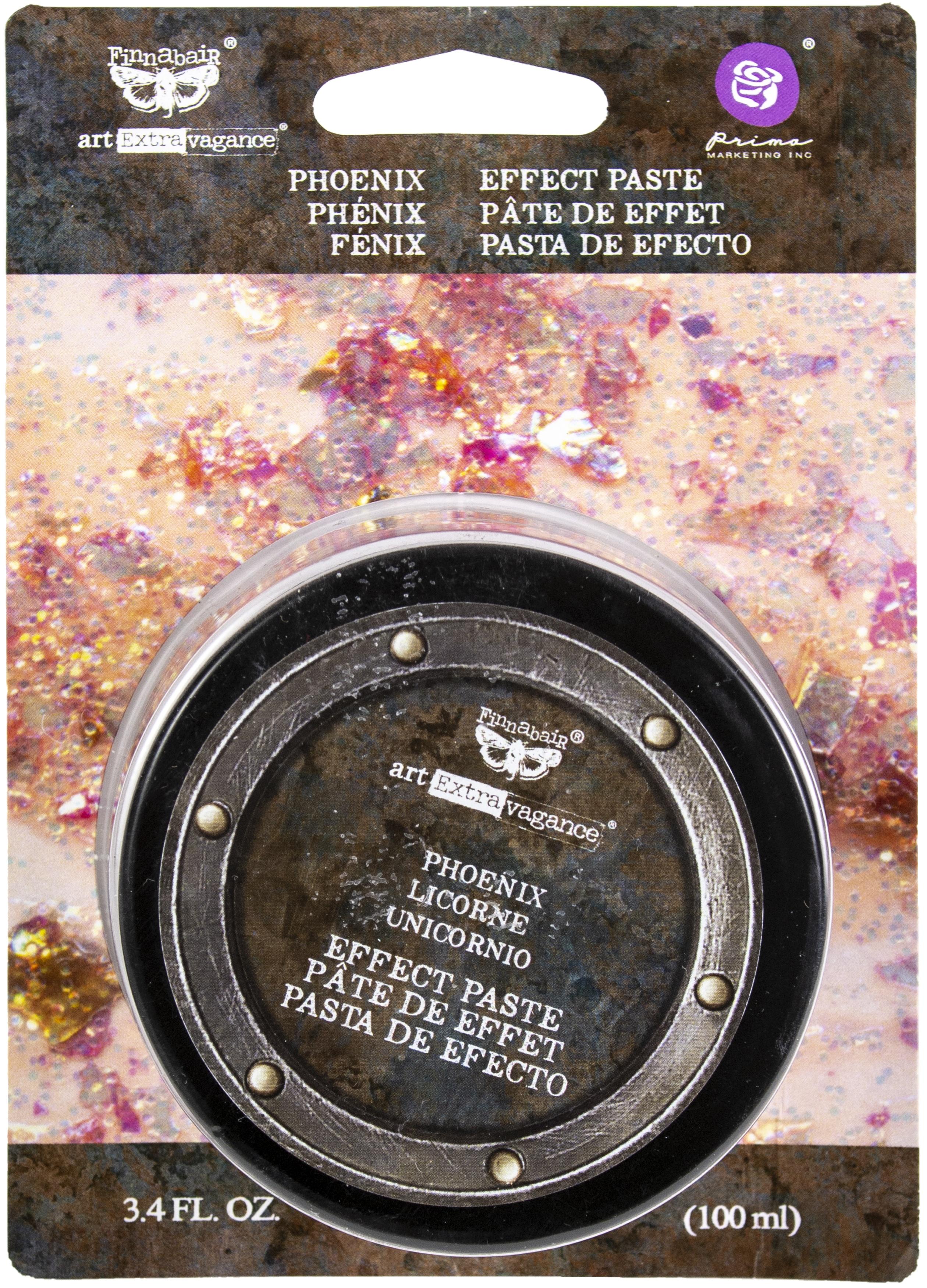 Finnabair Art Extravagance Effect Paste 100ml Jar-Phoenix