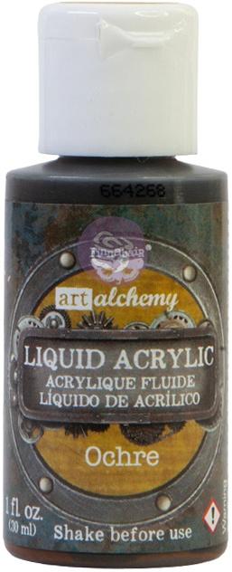Finnabair Liquid Acrylic - Ochre