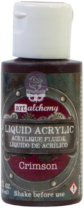Finnabair Liquid Acrylic - Crimson