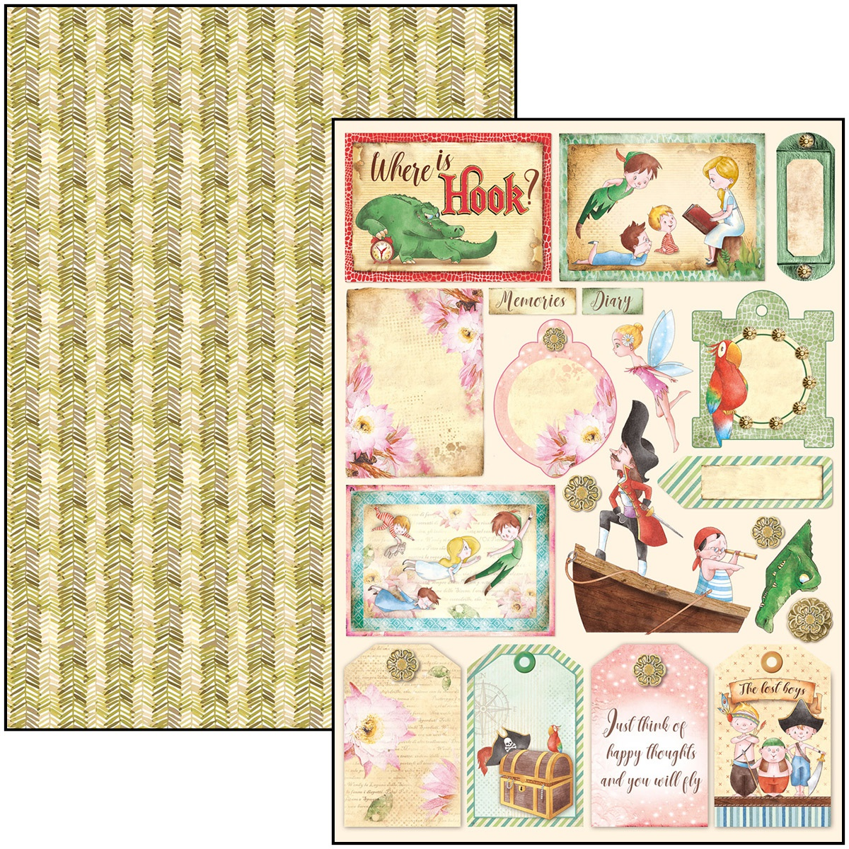 Neverland A4 Creative Pack 9 Designs