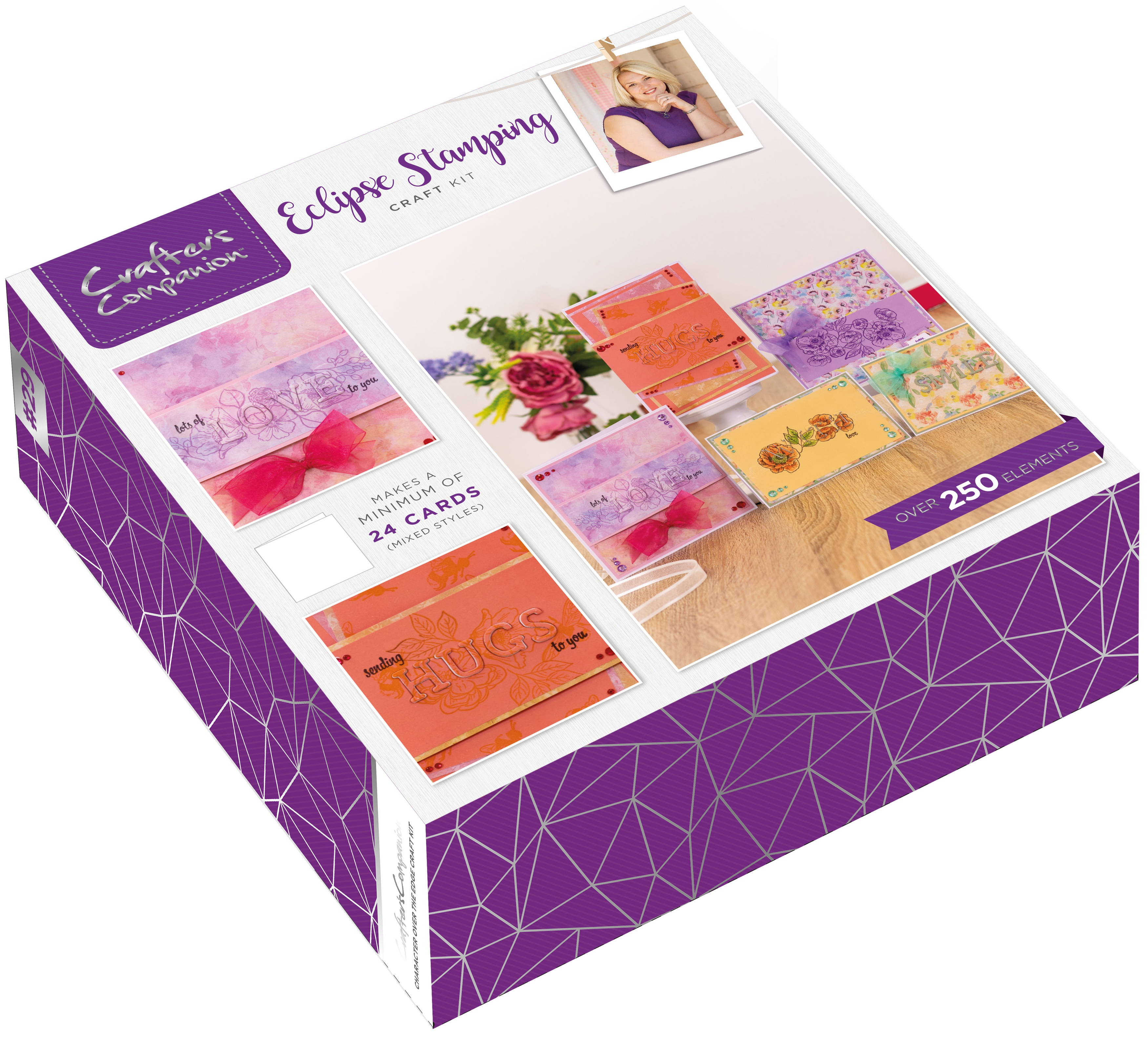 Crafter's Companion Craft Box Kit-Eclipse Stamp