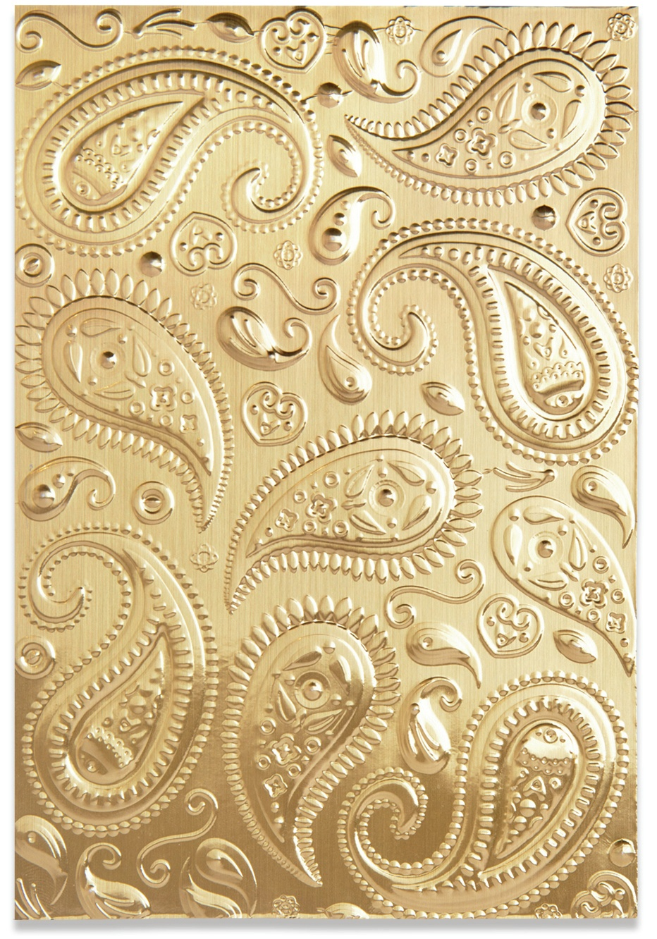 Sizzix 3D Textured Impressions By Georgie Evans Paisley