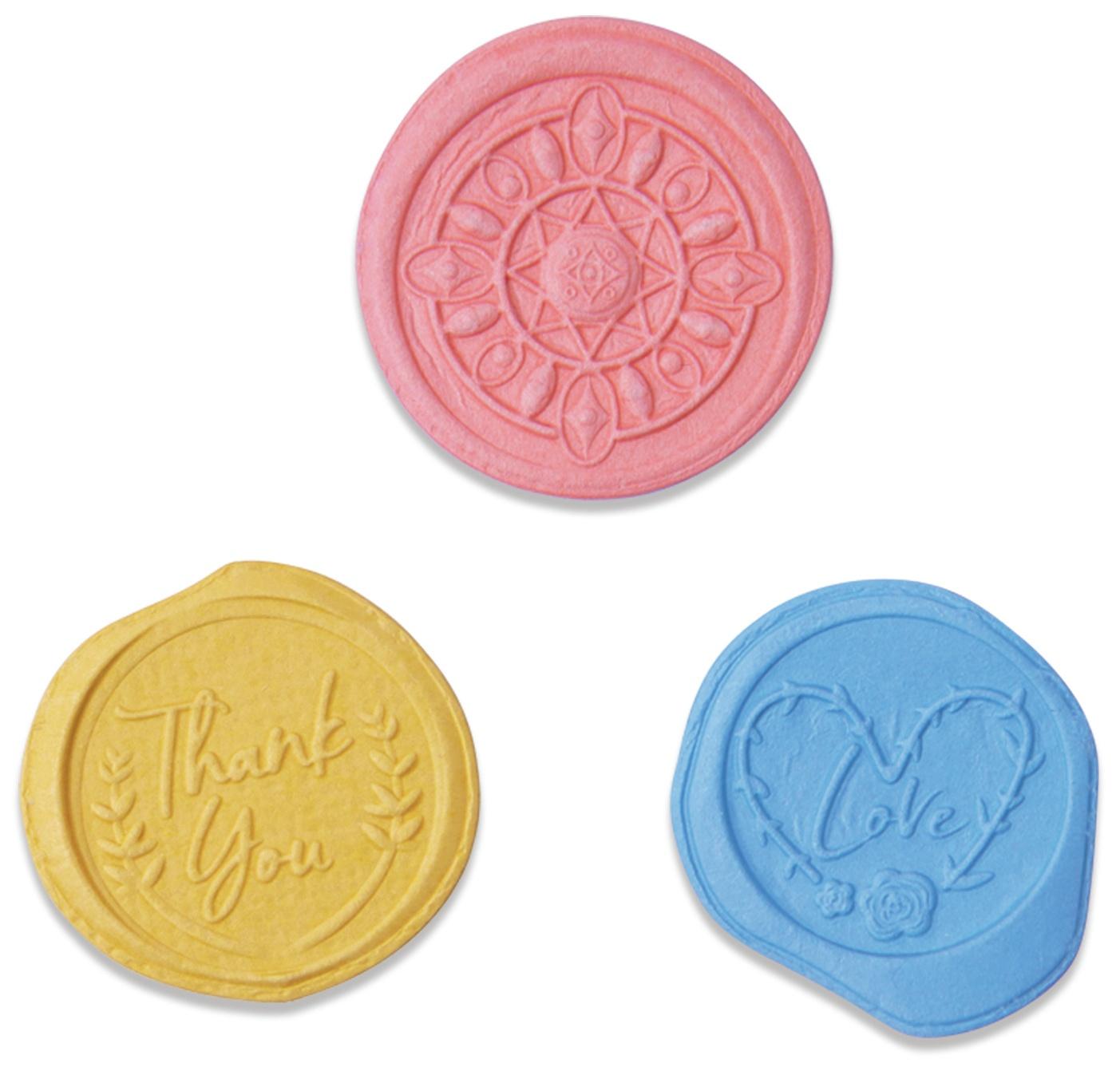 Sizzix - 3D Impresslits - Wax Seals