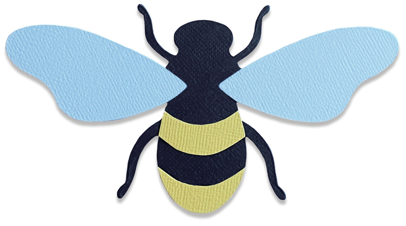 Sizzix Bigz Die By Lisa Jones-Queen Bee