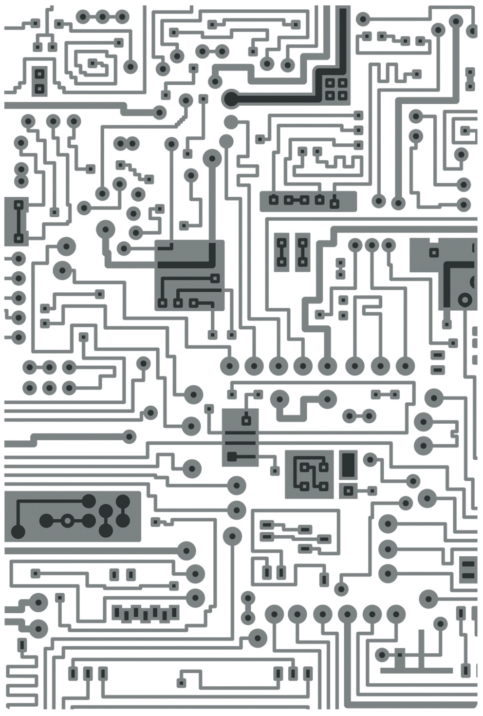 Sizzix - 3D Texture Fades Embossing Folder - Circuit by Tim Holtz