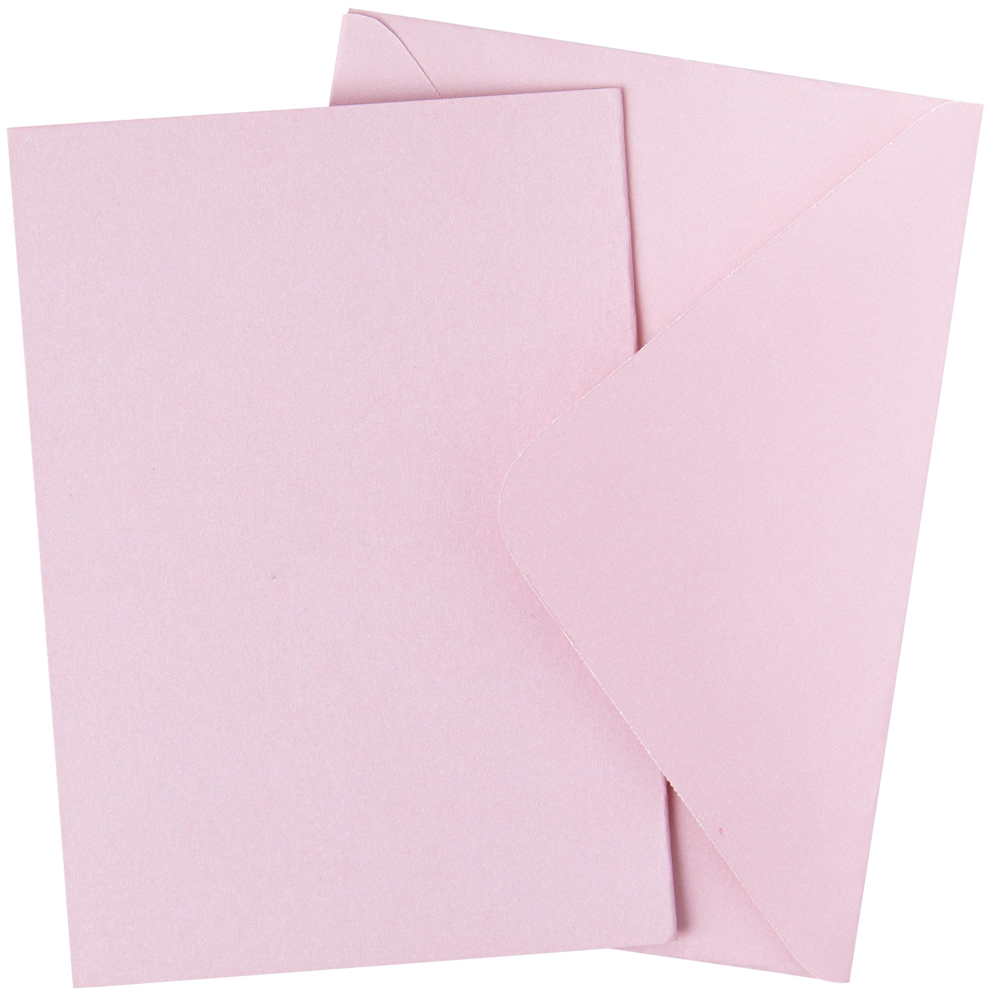 Sizzix Surfacez Card & Envelope Pack A6 10/Pkg-Ballet Slipper