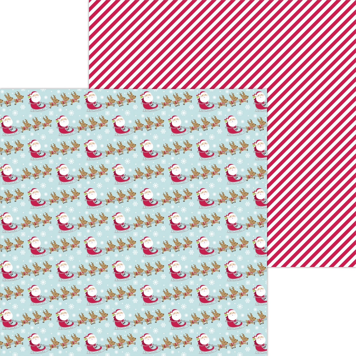 Night Before Christmas Double-Sided Cardstock 12X12-Cozy Quilt