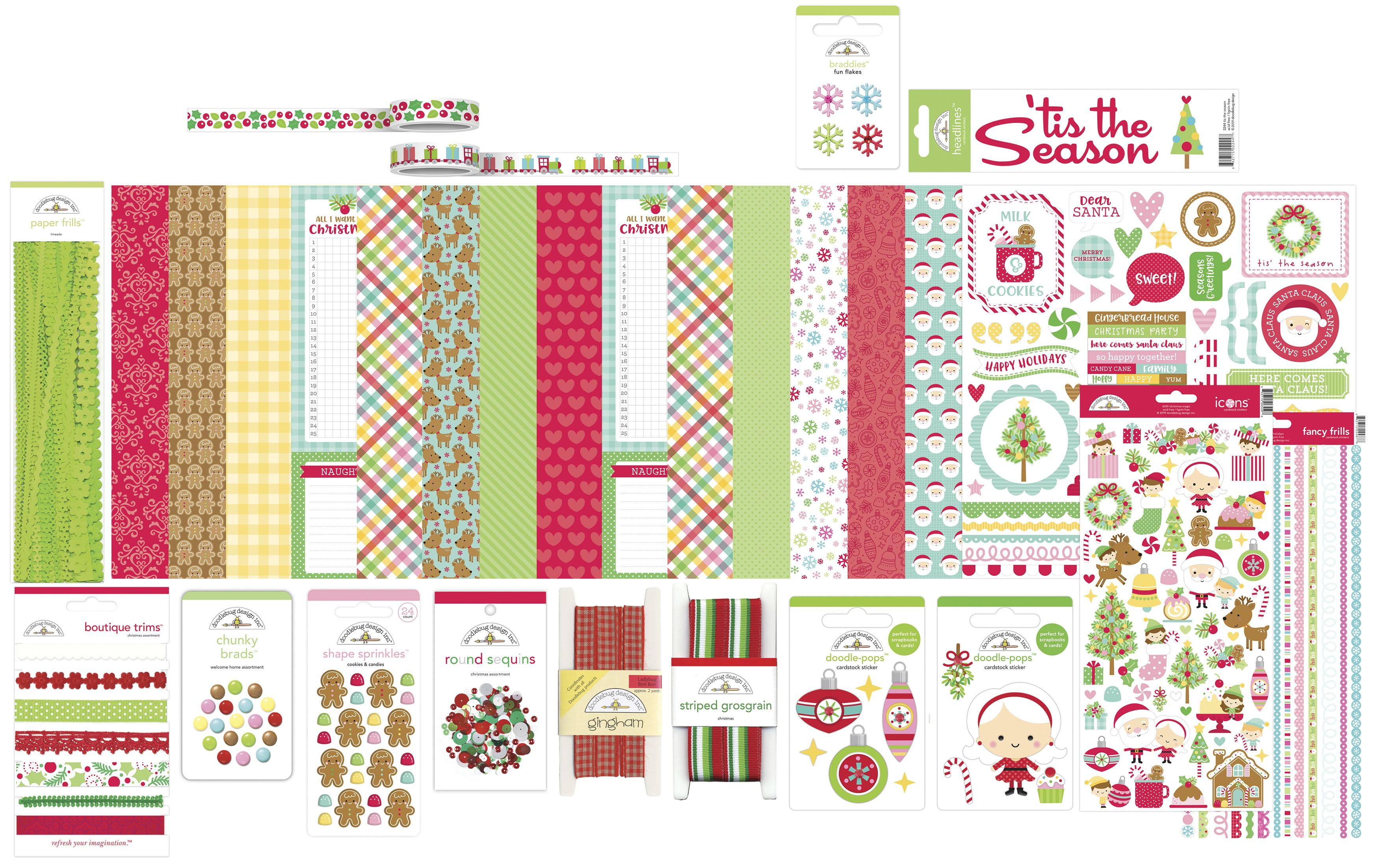Doodlebug Value Bundle-Christmas Magic