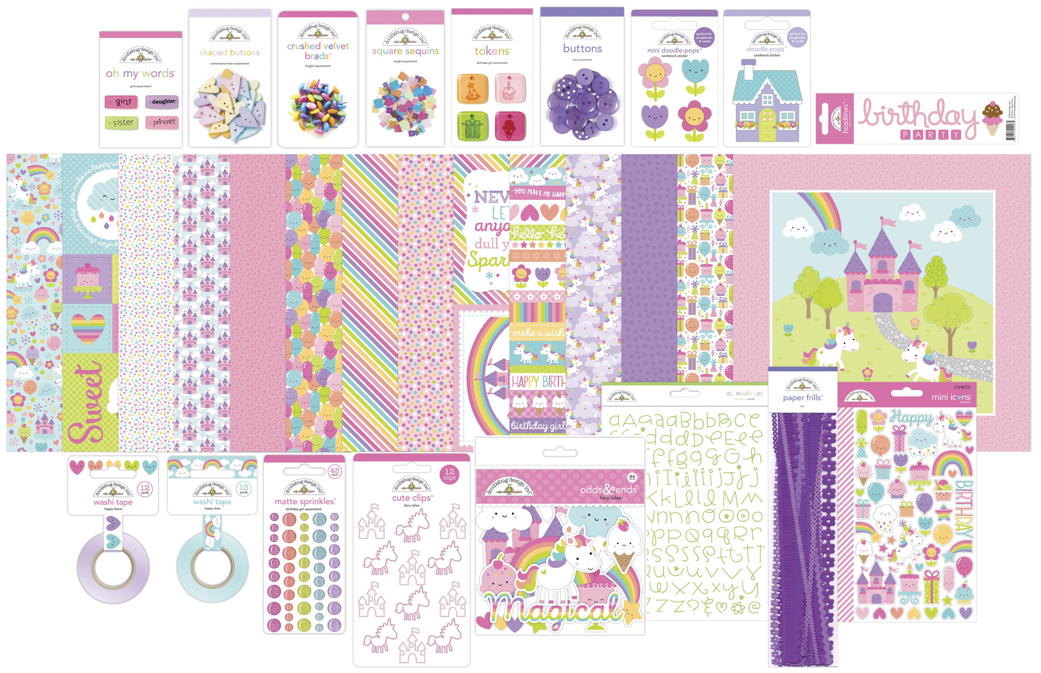 Doodlebug Collection Value Bundle-Fairy Tales