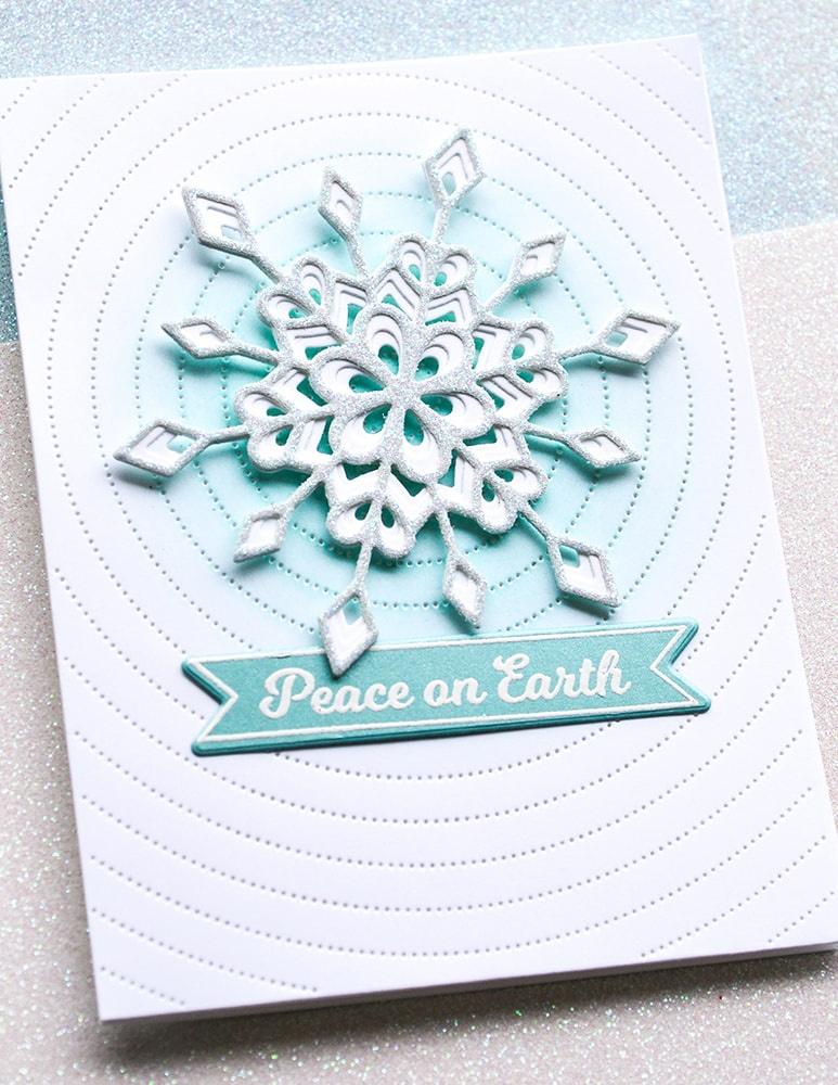 Birch Press Designs Dies-Frosty Flake Layer Set