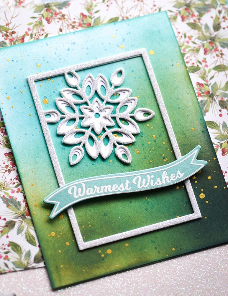 3 Mini Snowflake Frame Layer Set - Birch Press Designs Dies