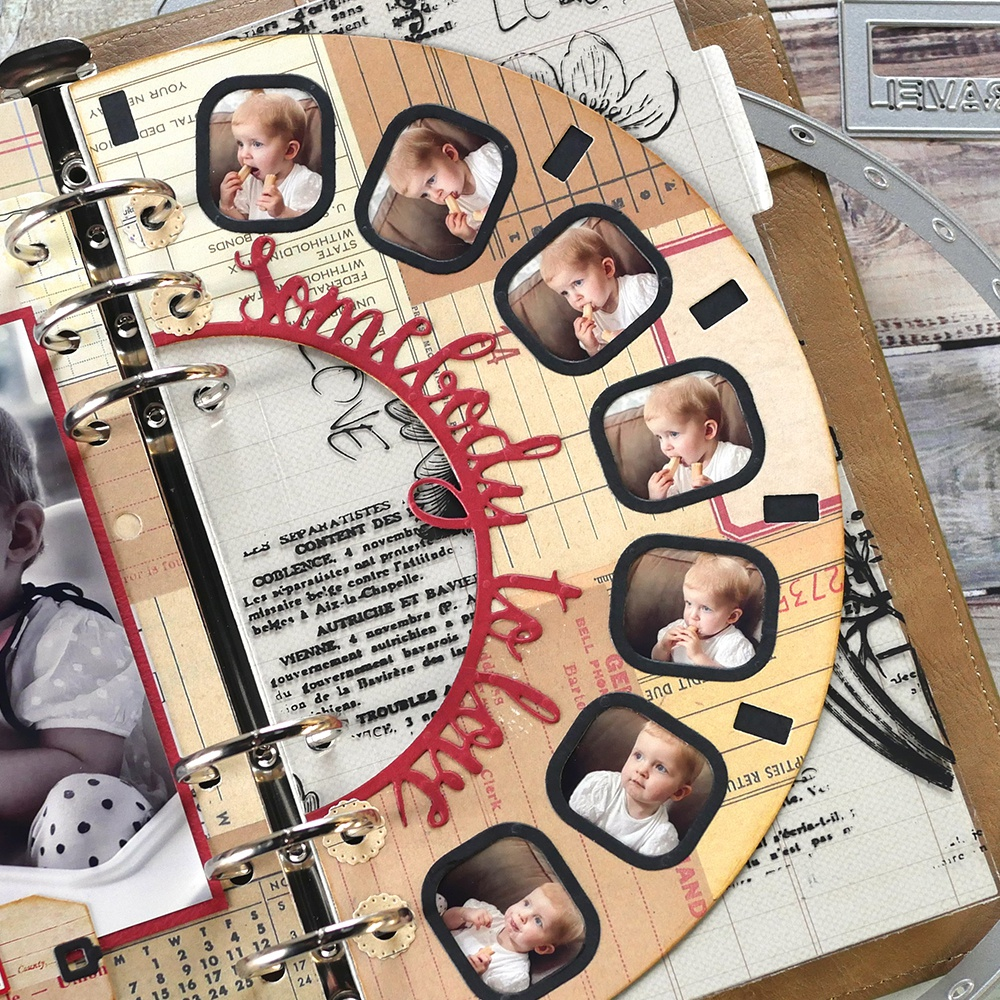 Elizabeth Craft Metal Die-Planner Essentials 32 -Viewmaster