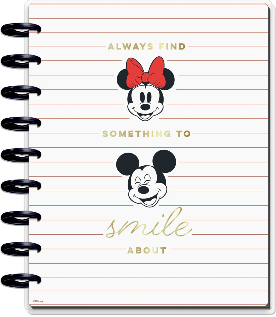 Happy Planner Disney Classic Guided Journal-Goals & Positivity