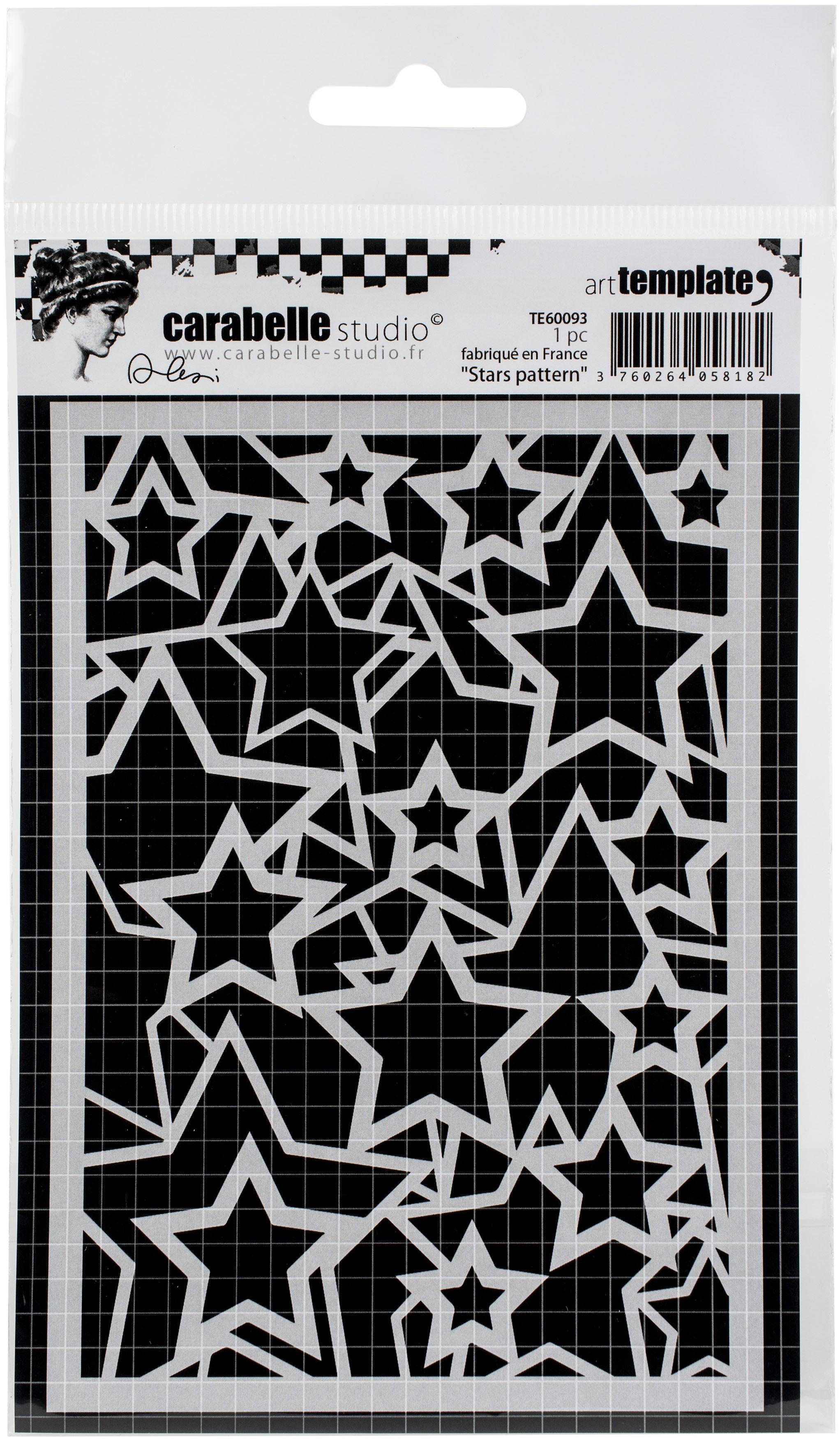 Stars Pattern Stencil