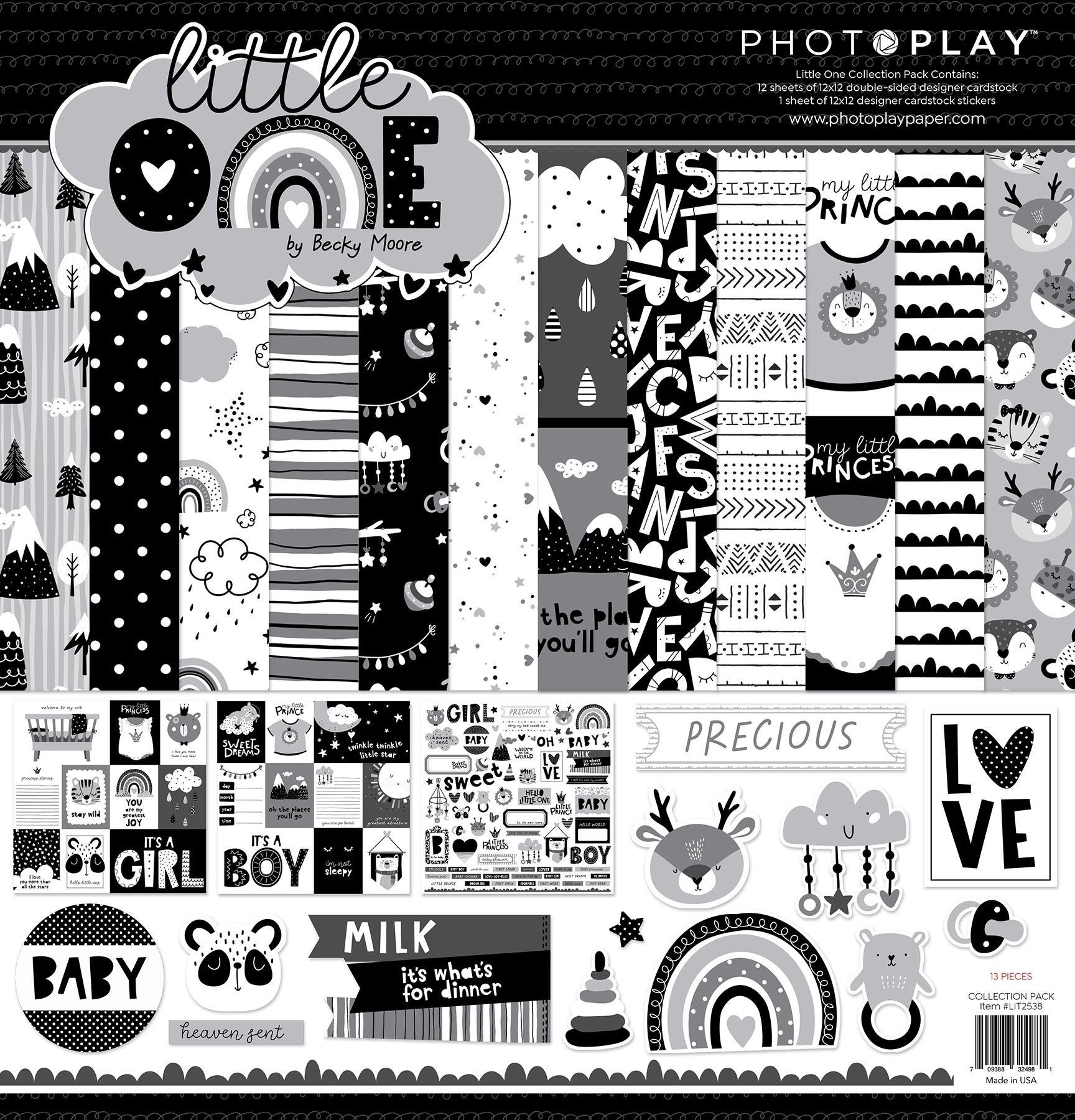 PhotoPlay - Little One - 12x12 Collection Pack