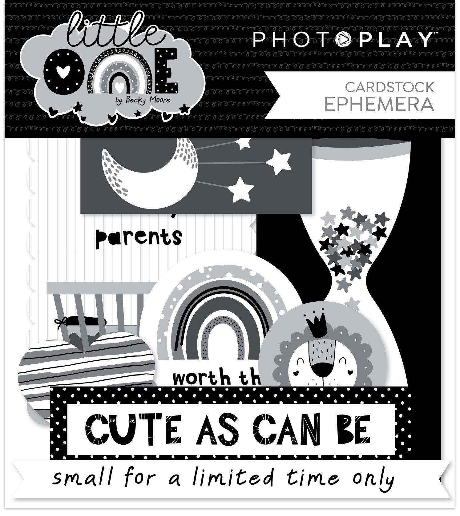 PhotoPlay - Little One - Ephemera Cardstock Die-Cuts