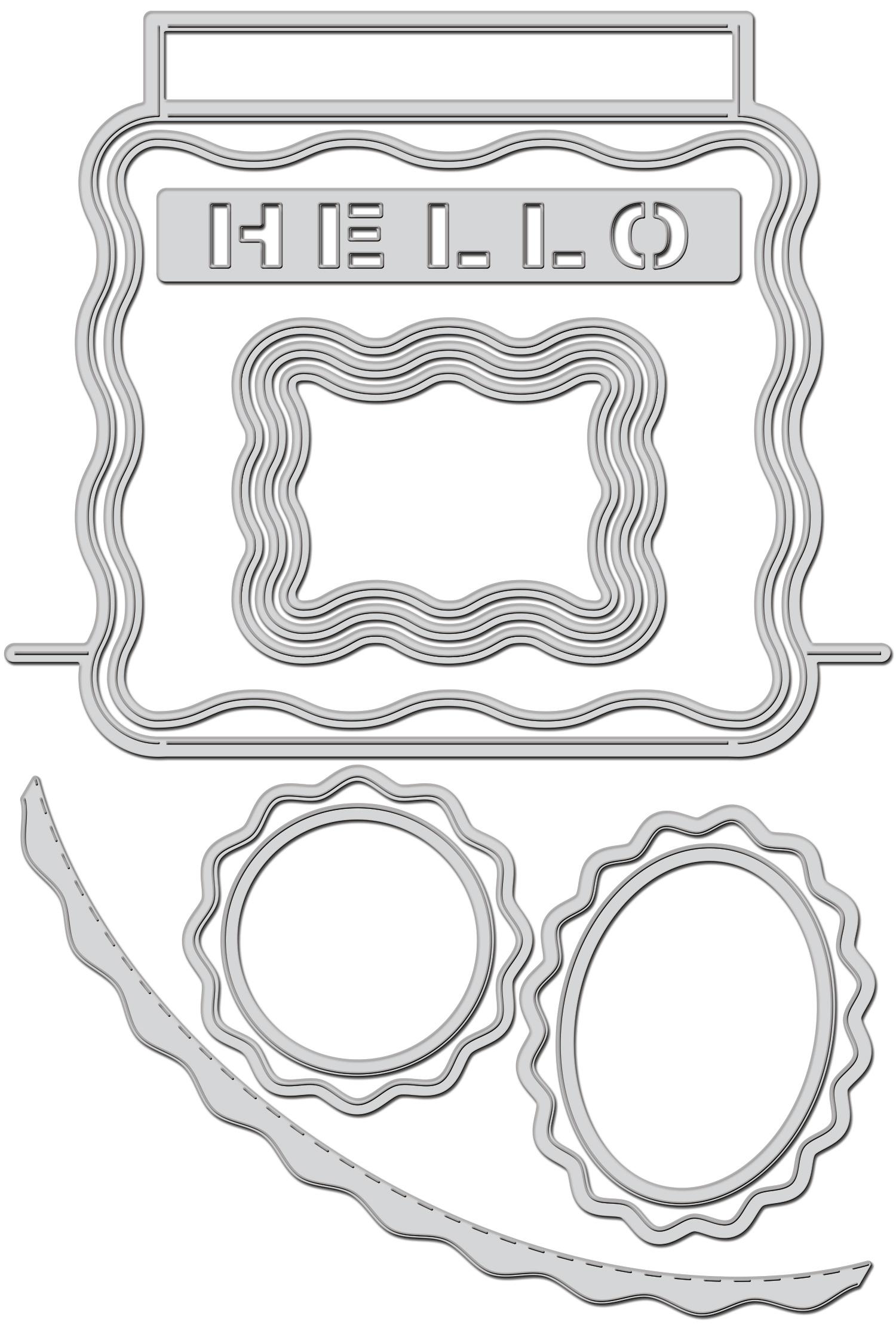 Stampendous Dies-Pop Frame